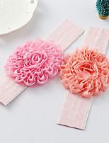 vendas de la flor de la tela de flores niña coreana
