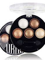 5 Colors UBUB Professional Baked 3in1 Matte&Glitter&Shimmer Metallic Color Eye Shadow Powder Cosmetic Makeup Palette