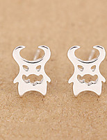 Earring Others,Jewelry 1 pair Fashionable Sterling Silver Silver Daily / Casual