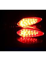 orizzonte moto principale di girata luci, fuoristrada 12v veicolo strada che luci di direzione, accendere la spia (1pc)
