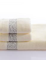 Ensemble de serviette de bain-Fil teint- en100% Coton-Wash Towel Size:34*35cm(13.3*13.81inch) Hand Towel Size:34*76cm(13.4*29.9linch)