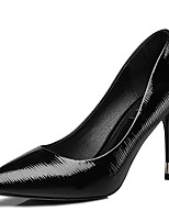 Women's Shoes Synthetic Spring/Summer/Fall/Winter Heels Heels Wedding/ Party & Evening /Casual Stiletto Heel Black/White