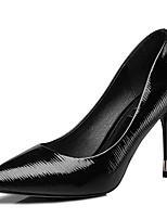 Mujer-Tacón Stiletto-Tacones-Tacones-Boda / Casual / Fiesta y Noche-Sintético-Negro / Blanco