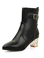 Women's Heels Spring / Fall / WinterHeels / Cowboy / Western Boots / Riding Boots / Fashion Boots  Bootie / Combat