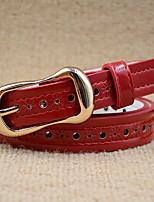 Women PU Waist Belt,Vintage / Work / Casual Fabric All Seasons