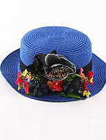 OUFULGA Handmade Sun Hat Holiday Beach Hat