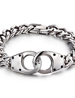 2016 Kalen New Arrival Fashion Jewelry 316L Stainless Steel Link Chian Bracelet For Male
