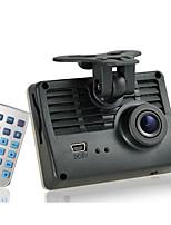 de alta definición de gran angular grabadora de visión nocturna 1080p / 720p de conducir