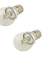 4 E26/E27 Ampoules Globe LED G45 20 SMD 2835 360 lm Blanc Froid Décorative AC 85-265 / AC 100-240 / AC 110-130 V 2 pièces