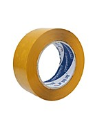 5.5Cm * 2.5Cm Beige Packing Tape Sealing Tape Warnings (2 Volumes One,Beige)