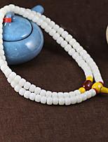 Браслеты Strand Браслеты Агат Круглый Мода Повседневные Бижутерия Подарок Белый,1шт