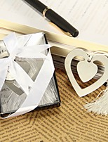 Metal Heart Bookmark Favors Beter Gifts® Recipient Gifts