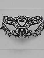 Luxury Masquerade Mask Venetian Laser Cut Metal Party Mask1005A1