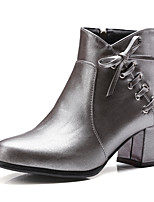 Women's Boots Winter Platform / Riding Boots /  Bootie / Comfort / Combat Boots / Round Toe Patent Leather / Leatherette