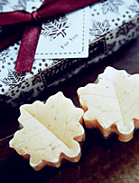 Recipient Gifts -Beter Gifts® Maple Leaf Shape Love Soap Favors for Wedding Gifts