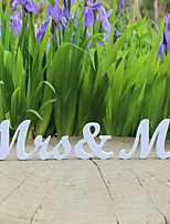 Jollylife Gay MR & MR Wooden Letters Wedding Decoration / Present/Gift