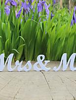Bruid / Bruidegom Gifts-1套 Stuk / Set Businesscard houders Geliefden Bruiloft / Valentijn hout Niet-persoonlijk Businesscard houders