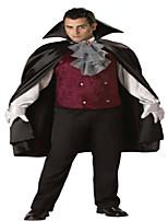 Costumes Zombie / Vampire Halloween Noir Couleur Pleine N/C Haut / Pantalon / Collier / Gants / Cape / Chapeau
