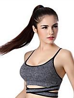 Esportivo®Ioga Blusas Respirável / Macio Stretchy Wear Sports Ioga / Pilates / Corrida Mulheres