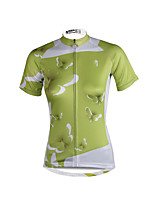 PALADIN® Cycling Jersey Women's Short Sleeve BikeBreathable / Quick Dry / Ultraviolet Resistant / Lightweight Materials / Reflective