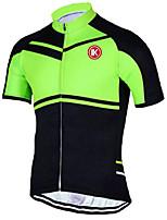 KEIYUEM Cycling Jersey/ Tops Unisex Short Sleeve/ Breathable / Quick Dry / Rain-Proof /Waterproof Zipper#K196
