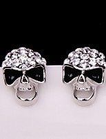 Earring Skull Jewelry Women Fashion Halloween / Daily / Casual Alloy 1 pair Gold