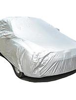 Car Garment Car Cover Taffeta 190T Single Double Coated Silver
