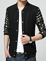The New England Men's windbreaker coat plus-size fashion long-sleeved jacket coat leisure coat HXTX-6832