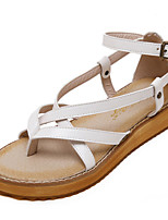 Women's Sandals Summer Sandals / Open Toe PU Casual Platform Others Black / White Others