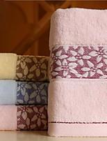 Jacquard Forging Six Petals Wide Cotton Twistless Yarn Towel