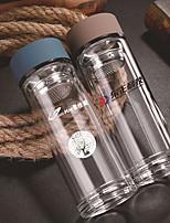 oficinas de vidrio de cristal regalo de la taza de cristal doble mercancía personalizada regalos de empresa