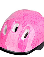 Спортивные-Детские-Велосипедный спорт / Роликобежный спорт-шлем(Розовый,Пенополистирол / ПВХ)6 Вентиляционные клапаны