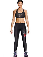 Running Clothing Sets/Suits Women's Sleeveless Breathable / Quick Dry / Compression Terylene Yoga / Fitness / Running Sports Sports Wear