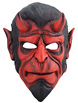 Resin Mask Hand Made Horror Cosplay Halloween Hellboy Male Red Cosplay Masks Mask Black Friday Luxury Mask