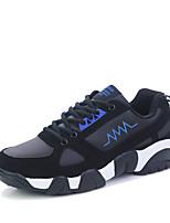 Herren-Sneaker-Sportlich-Stoff / PU-Flacher Absatz-Komfort-Blau / Gelb / Schwarz und Rot