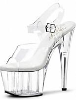 A nightclub stage catwalk shows Women's Heels Heels / Sandals PVC Wedding / Party & Evening / /Club banquet shoes