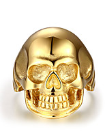 GMYR195 Men Jewelry Stainless Steel Ring Punk Style Rings Personatity Skull Halloween Gifts For men
