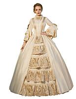 Steampunk®Georgian Renaissance Colonial Gothic Masquerade Period Dress Gown Princess Reenactment Ball Gown