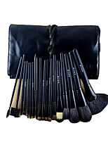 18 Makeup Brushes Set Goat Hair Portable Wood Face ShangYang(Brush Package)