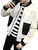 Autumn Korean Japanese men Liling jacket slim thin baseball coat size all-match Mens youth tide