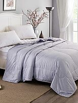 55% Mulberry Silk 45% Polyester Fill Summer Air Conditioning Quilt 200 x 230cm/150 x 210cm