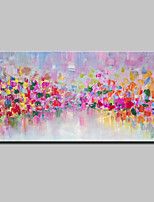 Hand Painted Modern Abstract Oil Painting On Canvas Wall Art Picture With Stretched Frame Ready To Hang 70x140cm