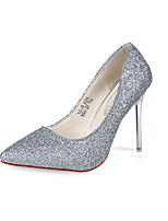 Women's Heels Spring / Fall Heels / Pointed Toe Leatherette Wedding / Office & Career / Casual Stiletto Heel Slip-onPink