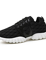 Men's Sneakers Spring / Fall Round Toe PU Outdoor / Athletic / Casual Flat Heel Lace-up