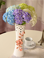 Hi-Q 1Pc Decorative Flower Hydrangeas Wedding Home Table Decoration Artificial Flowers