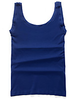 Men's Solid Sport Tank Tops,Cotton Sleeveless-Black / Blue / Brown / Pink / White