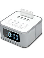 Automotive Supplies S1 Smartphone Dock Speaker FM Alarm Clock Mini Stereo Subwoofer