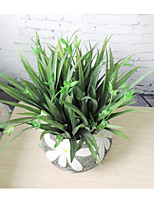 Hi-Q 1Pc Decorative Flower Orchid Grass Wedding Home Table Decoration Artificial Flowers