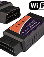 sistema dual elm327 vehículo wifi detector de equipos de detección de OBD2 OBD elm327 wifi inalámbrico