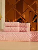 Ensemble de serviette de bain-Jacquard- en100% Coton-35*75cm ; 70*140cm